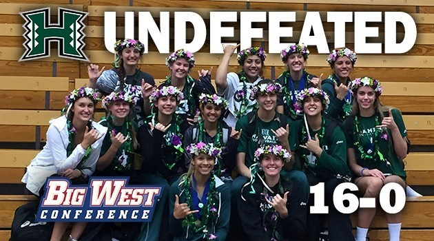Women's Volleyball - Big West Undefeated